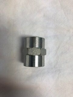 Steel Hex Couplers 3:8