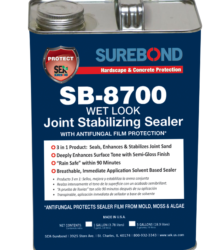 SureBond SB-8700 Wet Look Joint Stabilizing Sealer