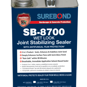 SureBond SB-8700 Wet Look Joint Stabilizing Sealer