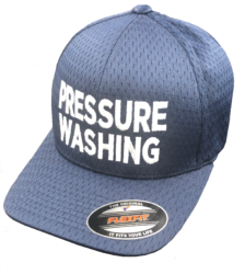 Bleach-Proof 'PRESSURE WASHING' Hat
