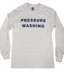 Front View 'Pressure Washing' T-Shirt