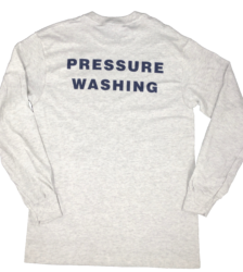 Back View of 'Pressure Washing' T-Shirt