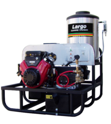 Vertical Coil Hot Water Pressure Washer
